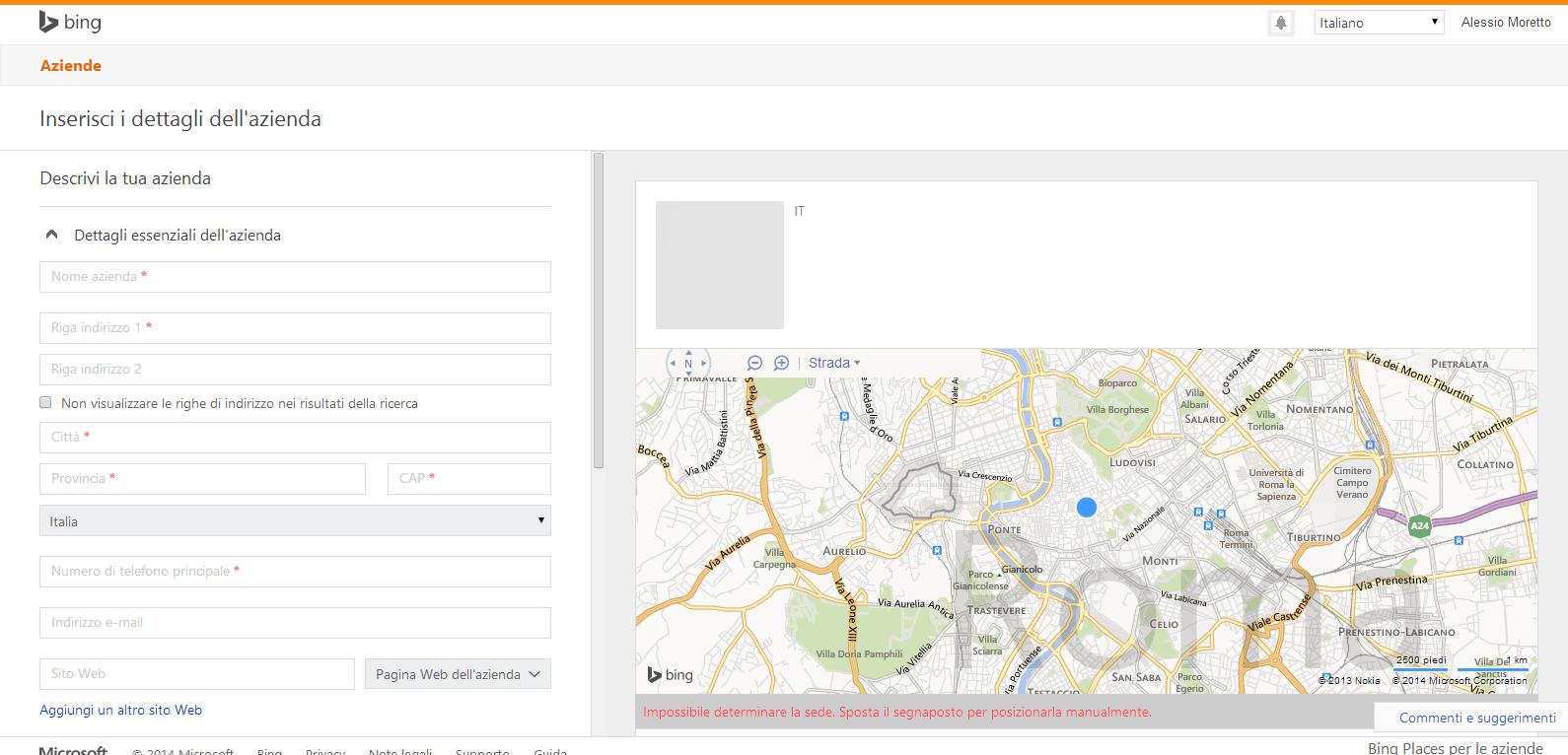 Bing Places per le aziende (2)