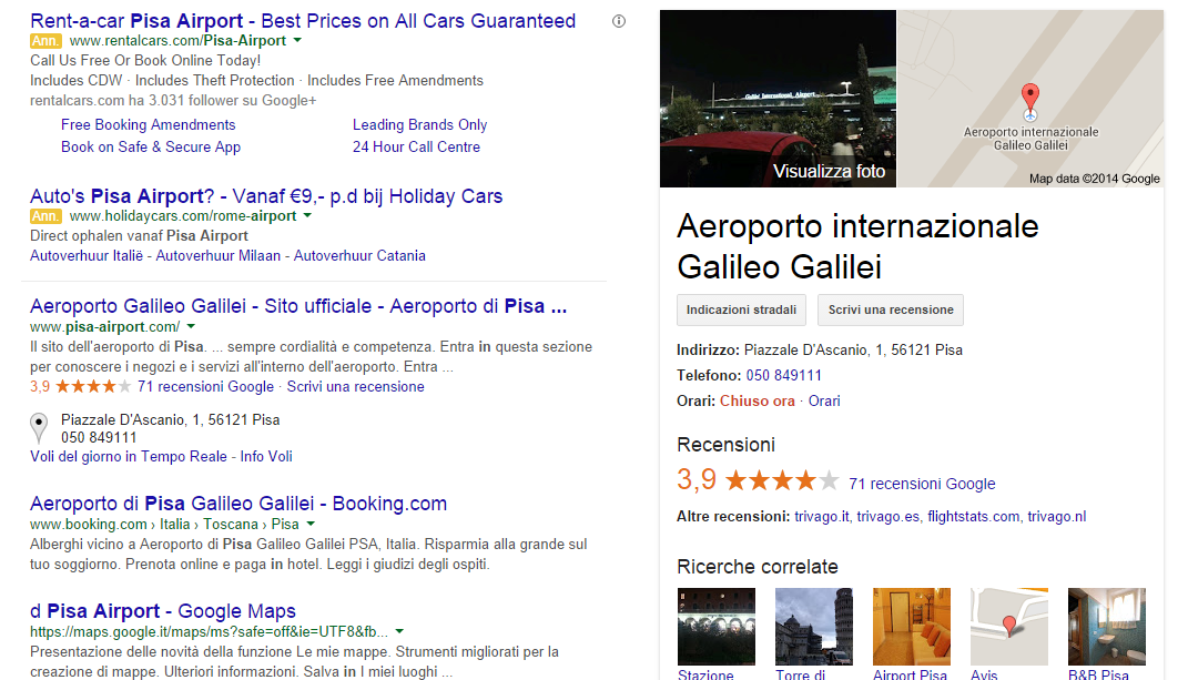 Around Pisa Airport   Cerca con Google