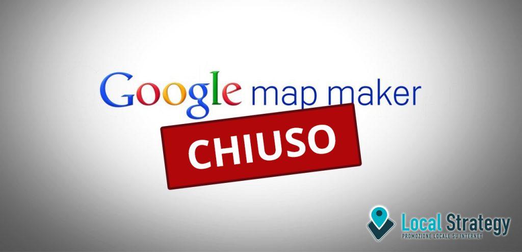 Google Map Maker Chiuso