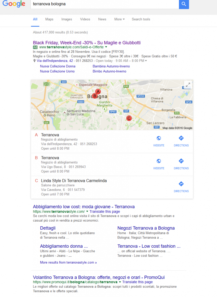 3-Local Pack Google My Business Branded